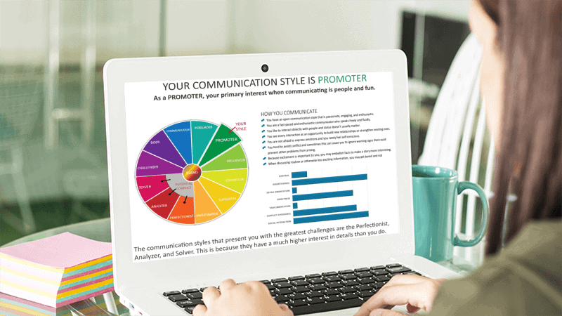Promotor Communication Style On Laptop 1