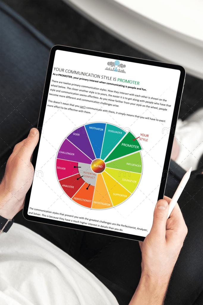 Communication Styles 2.0 on iPad